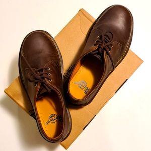 Dr. Martens Unisex 1461 Crazy Horse Leather Shoes
